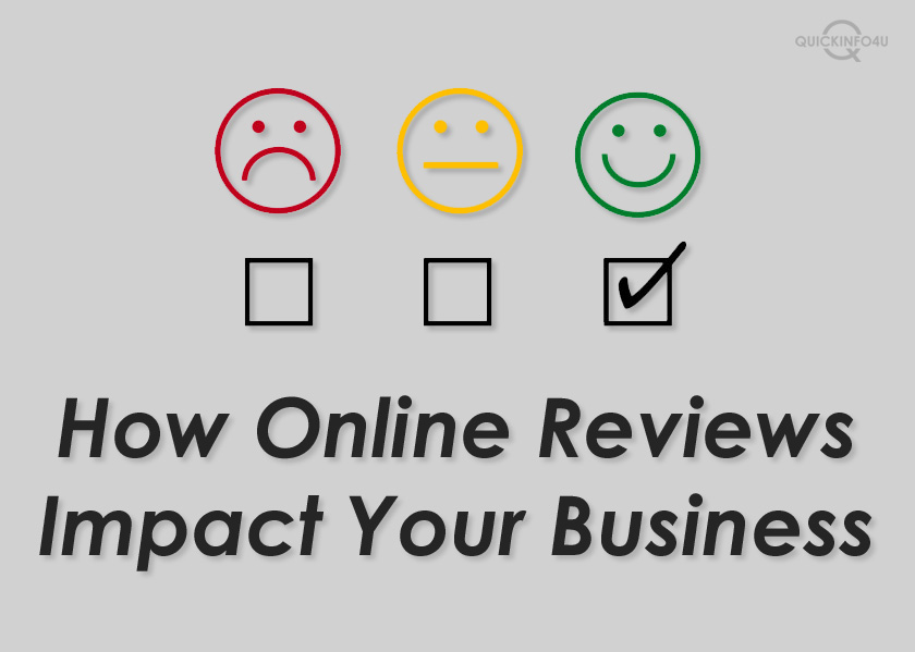 How Online Reviews Impact Your Business