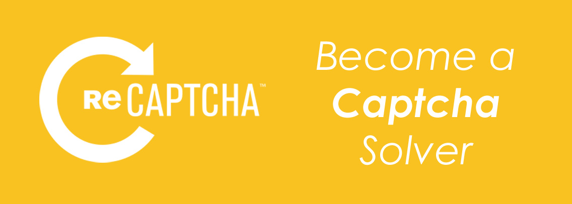 Become a Captcha Solver