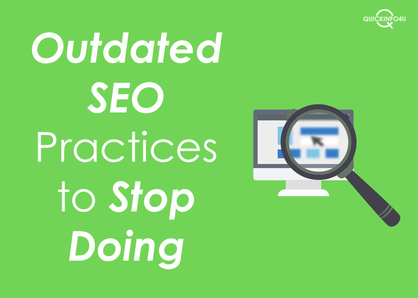 Outdated SEO Practices to Stop Doing